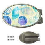 Seashells Money Clips (Oval)  Front