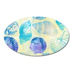 Seashells Oval Magnet Front