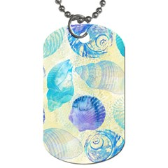 Seashells Dog Tag (One Side)