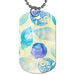 Seashells Dog Tag (Two Sides) Front