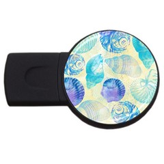 Seashells USB Flash Drive Round (1 GB)