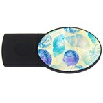 Seashells USB Flash Drive Oval (2 GB)  Front