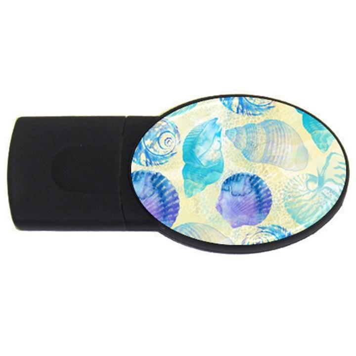 Seashells USB Flash Drive Oval (1 GB)
