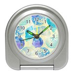 Seashells Travel Alarm Clocks Front