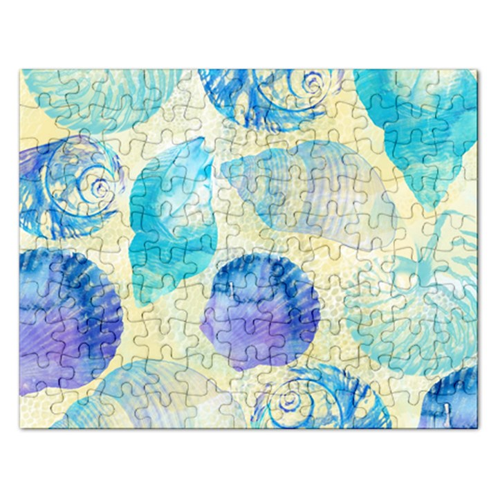 Seashells Rectangular Jigsaw Puzzl