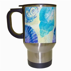 Seashells Travel Mugs (white)
