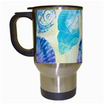 Seashells Travel Mugs (White) Left