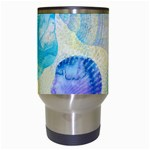 Seashells Travel Mugs (White) Center