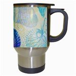 Seashells Travel Mugs (White) Right