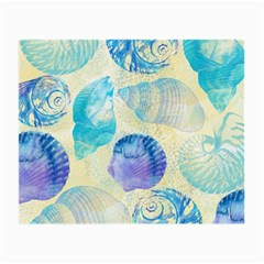 Seashells Small Glasses Cloth