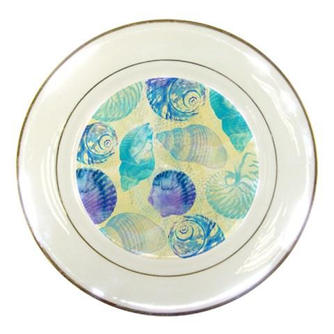 Seashells Porcelain Plates