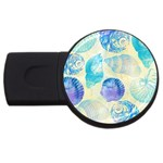 Seashells USB Flash Drive Round (4 GB)  Front