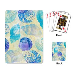 Seashells Playing Card