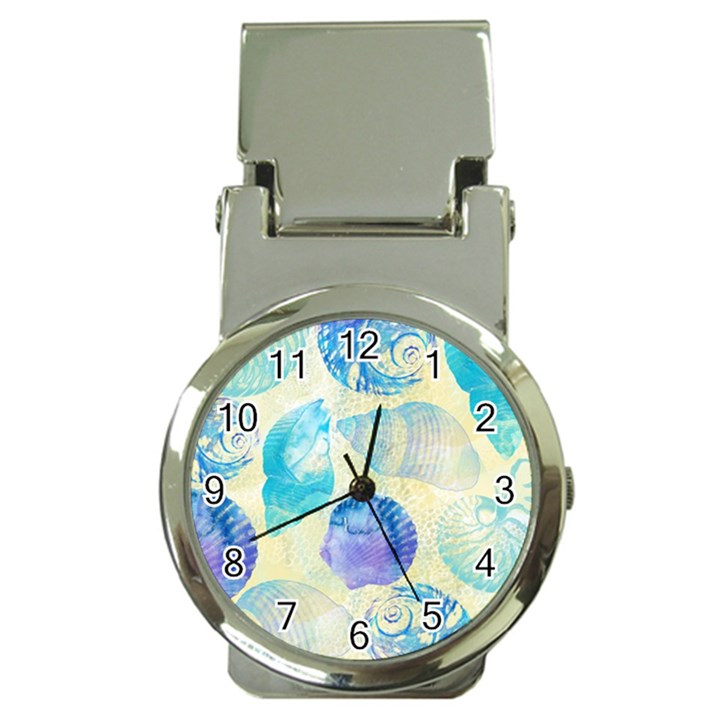 Seashells Money Clip Watches
