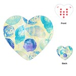 Seashells Playing Cards (Heart)  Front