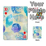 Seashells Playing Cards 54 Designs  Front - Diamond10