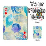 Seashells Playing Cards 54 Designs  Front - DiamondQ