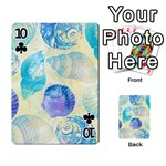 Seashells Playing Cards 54 Designs  Front - Club10