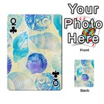 Seashells Playing Cards 54 Designs  Front - ClubQ