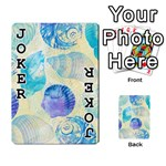 Seashells Playing Cards 54 Designs  Front - Joker1