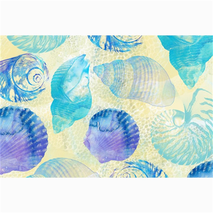 Seashells Collage Prints