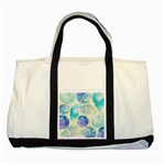 Seashells Two Tone Tote Bag Front