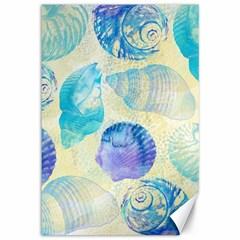 Seashells Canvas 12  X 18