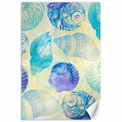 Seashells Canvas 24  x 36