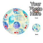 Seashells Playing Cards 54 (Round)  Front - Diamond6