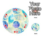 Seashells Playing Cards 54 (Round)  Front - Diamond9