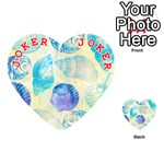 Seashells Playing Cards 54 (Heart)  Front - Joker2