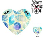 Seashells Playing Cards 54 (Heart)  Front - Spade10