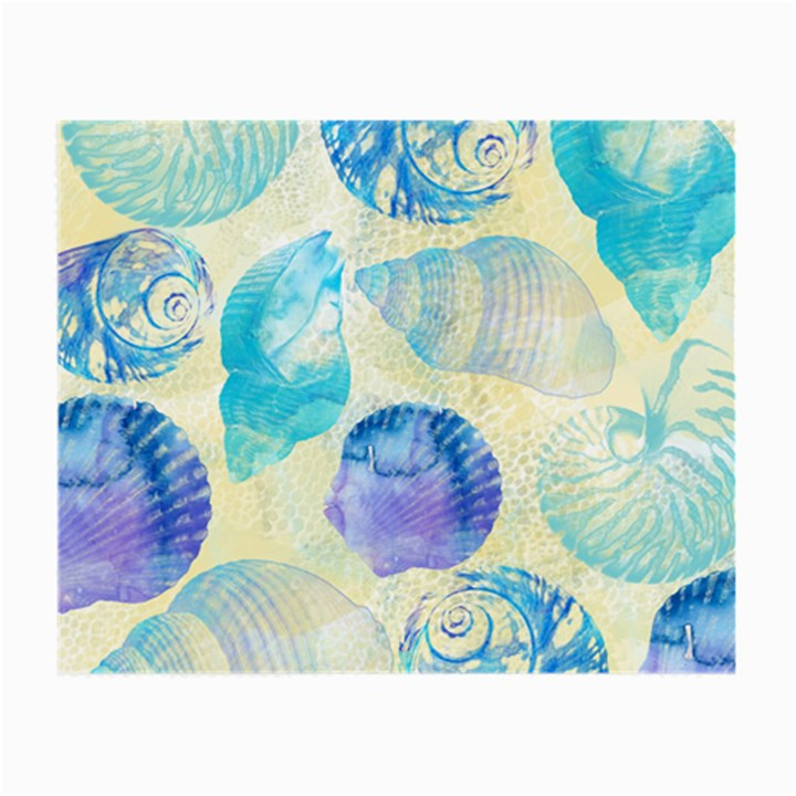 Seashells Small Glasses Cloth (2-Side)