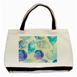 Seashells Basic Tote Bag (Two Sides) Front