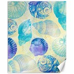 Seashells Canvas 11  x 14   14 x11 Canvas - 1