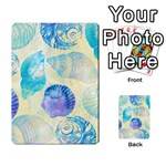 Seashells Multi-purpose Cards (Rectangle)  Back 45