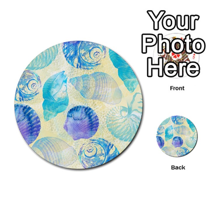 Seashells Multi-purpose Cards (Round)