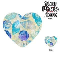 Seashells Multi Purpose Cards (heart)