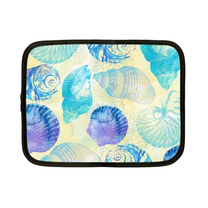 Seashells Netbook Case (Small)