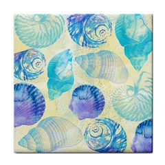 Seashells Face Towel