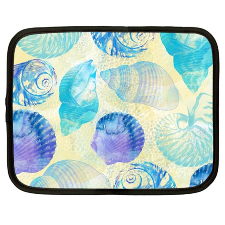 Seashells Netbook Case (XL)