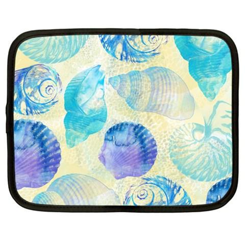 Seashells Netbook Case (XXL)