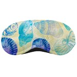 Seashells Sleeping Masks Front