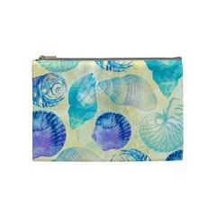 Seashells Cosmetic Bag (medium)