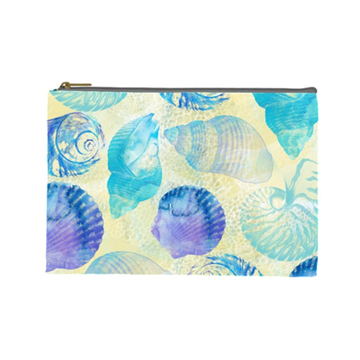 Seashells Cosmetic Bag (Large)