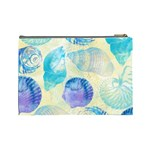 Seashells Cosmetic Bag (Large)  Back