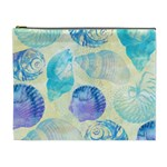Seashells Cosmetic Bag (XL) Front