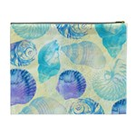 Seashells Cosmetic Bag (XL) Back
