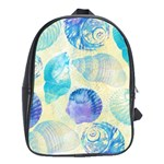Seashells School Bags(Large)  Front