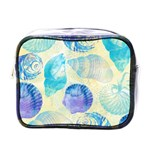 Seashells Mini Toiletries Bags Front